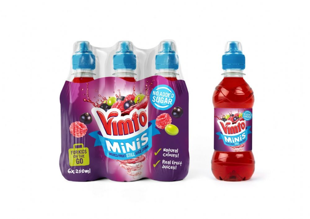 Vimto Minis 6x250ml BBE MAY 2020